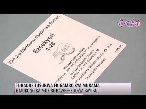 E Mukono ba muzibe baweereddwa bayibuli
