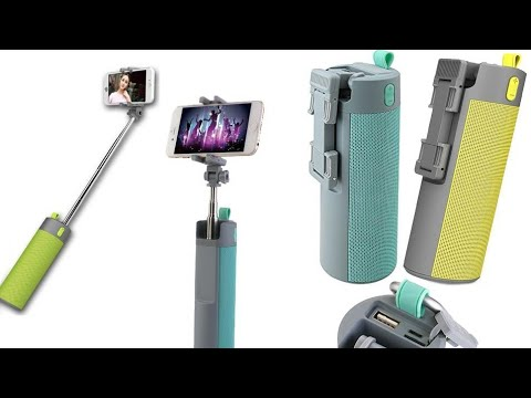 Multi-Function Selfie Stick Speaker You Can Use The Bluetooth Connection
