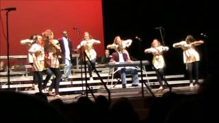 "Auburn Varsity Singers (Showchoir) 2011-Jamie Foxx's ""Golddigger""-DJ Scaife"