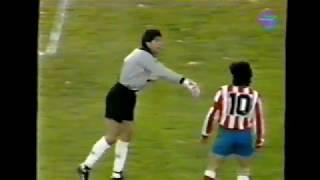 Albacete 3 - Atlético de Madrid 1. Temp. 91/92. Jor. 19