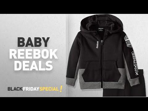 Top Black Friday Reebok Baby Clothing Deals: Reebok Boys' Performance Zip Hoodie and Pant Set