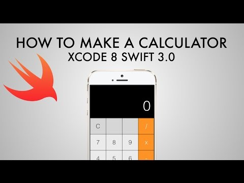 How To Make A Calculator App In Xcode 8 (Swift 3.0) – Part 1/2