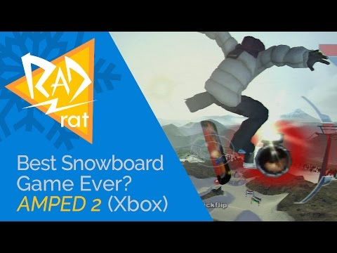 Best Snowboarding Game of All Time? Amped 2 Review (Xbox)! 🏂 ❄