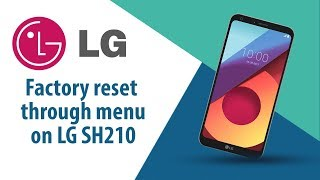 How to Factory Reset through menu on LG SH210?