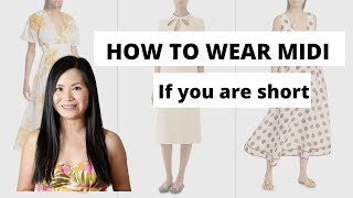 Midi Dresses For Short Girls- How To Make It Work On Petites