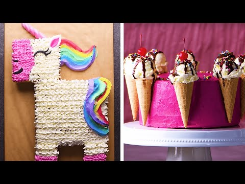 10 Beautifully Easy Cake Decorating Ideas! | Cake Decoration and Cake Design Ideas by So Yummy
