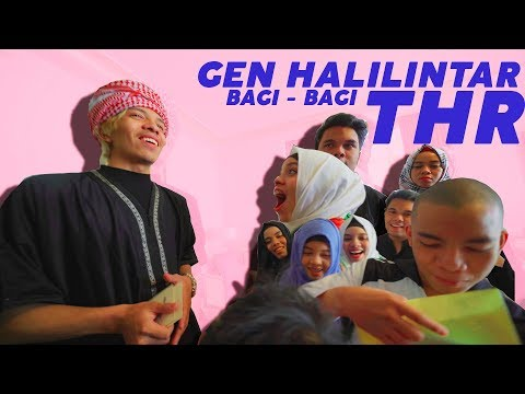 Download Dari Anak 1-11 Semuanya Dapat & Kasih THR, Siapa Yang Paling Banyak? PART 1 | Gen Halilintar HD Mp4 3GP Video and MP3