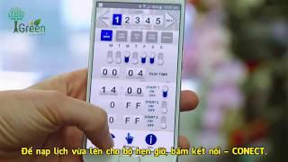Hướng dẫn lên lịch tưới cho bộ hẹn giờ CO3015 Bluetooth