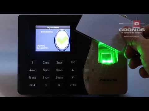 Tutorial ZK K20. Cómo Configurar Reloj K20 Biométrico de Control Horario y acceso.