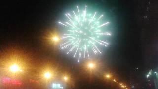 Ульяновск, день Авиастроителя, 20.08.2016 салют в честь праздника