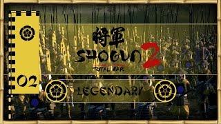 Let's Play Total War: Shogun 2 (Legendary) - Oda - Ep.02 - Pest Control!