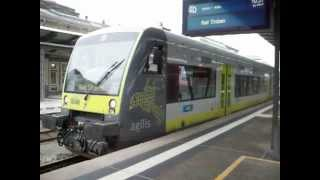 preview picture of video 'BR 650 (AG VT650.709) als RB nach Badsteben - Hof. Hbf.'