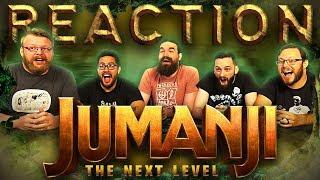 JUMANJI: THE NEXT LEVEL   Official Trailer REACTION!!