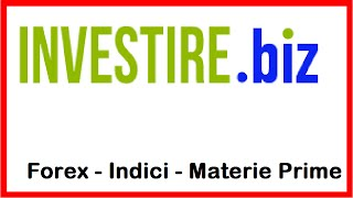Video Analisi Forex Indici Materie Prime 09.05.2016