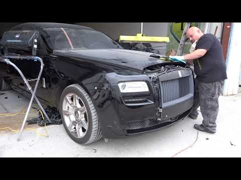 Bought wrecked Rolls-Royce on Copart repair Part 3 pain in the a$$