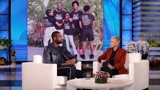 Dwyane Wade candidly chatted with Ellen about embracing his 12-year-old's gender identity, and how he and his wife Gabrielle Union made it a priority to educate themselves about the LGBTQ+ community to give Zaya the opportunity to be her best self. The NBA star also opened up about the passing of his friend Kobe Bryant.  #DwyaneWade #TheEllenShow #EllenDeGeneres