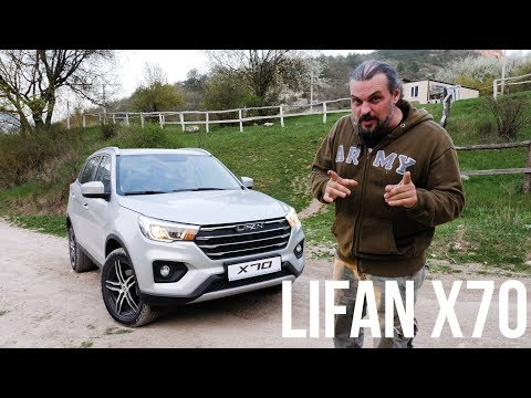 Фото к видео: Первый тест Lifan X70: гроза Creta, Captur и X-Ray?