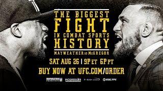 Mayweather vs McGregor: Conor McGregor Media Conference Call