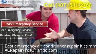 Best emergency air conditioner repair Kissimmee Florida (407) 641-2768