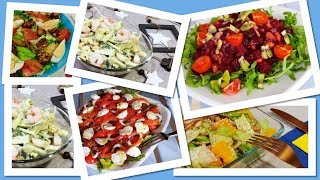 Топ 5 необычных салатов. Экзотические салаты в праздничном меню
