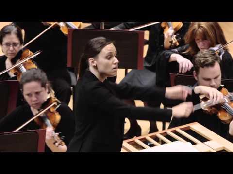 Dina Gilbert, chef en résidence de l'OSM (2013-2016) nous parle du chef d'orchestre