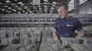 Proces produkcji cegieł ręcznie formowanych Vandersanden
