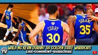 Wala Ng KEVIN DURANT Sa NBA Finals | Torn Achilles INJURY | Kayanin Pa Kaya Ng Splash Brothers?