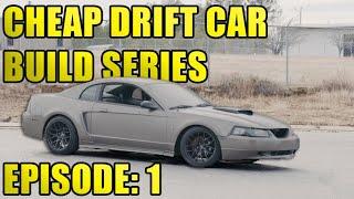$700 Drift Twin Turbo Mustang Build!!!!  Episode: 1