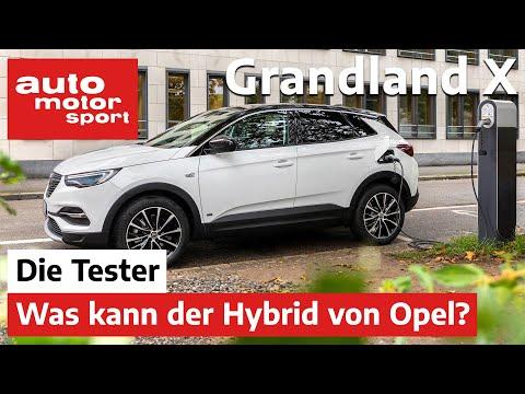 Opel Grandland X Hybrid: Der Vernünftige unter den SUV? - Test/Review   auto motor und sport