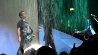 Taylor Swift singing Should've Said No in the rain!! - Wembley, London