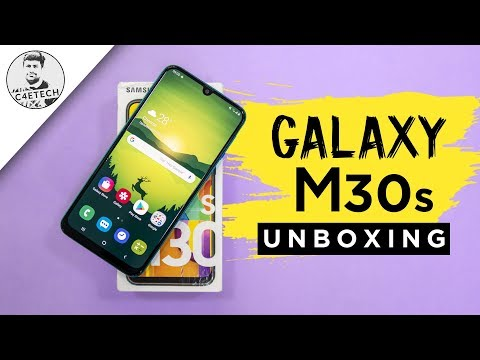 Samsung Galaxy M30s Unboxing & First Look - Solid Upgrade!!!