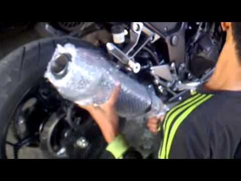 knalpot akrapovic untuk 150 dan 250 cc