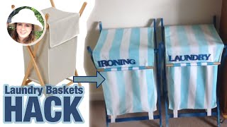 Cheap Laundry Baskets Hack! DIY How To.