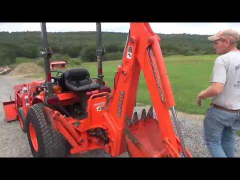 2006 Kubota B3030 Compact Tractor Loader Backhoe 4X4 Diesel HST 540 PTO For Sale