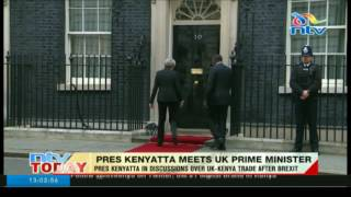 Uhuru seeks trade pact with UK after Brexit - VIDEO