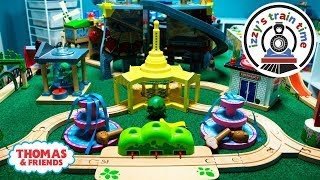 Thomas and Friends | Mommy Solo Thomas Track Challenge! Fun Toy Trains for Kids