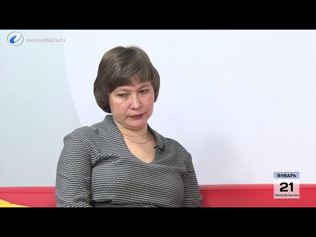 Гость программы «Новый день» Наталья  Калинина