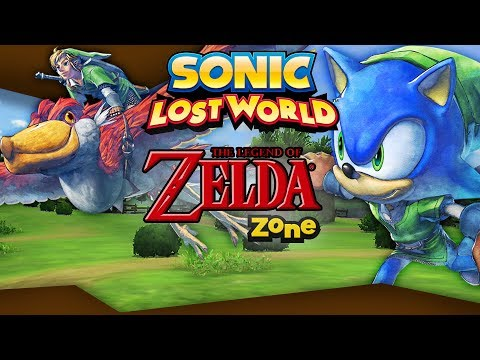 Sonic Lost World - The Legend of Zelda Zone - DLC