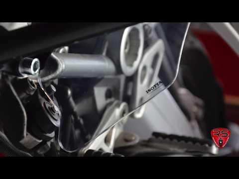 RS Motorcycle Solutions - Fußschutz für BMW R 1200 GS LC - Montage