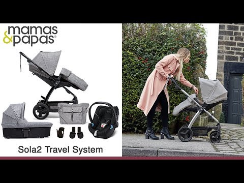 Mamas & Papas Sola2 Travel System Store Demo – Direct2Mum