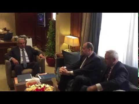 اجتماع الوزير/ طارق قابيل مع وزير الصناعة البيلاروسي