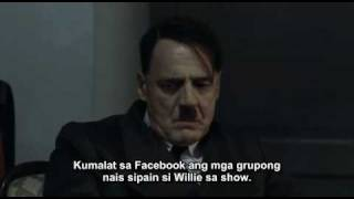 Hitler is informed about Willie Revillame.