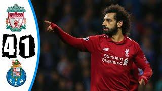 Liverpool Vs Porto 4-1 All Goals & Highlights 17/04/2019 HD