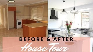 HOUSE TOUR | DIY HOME RENOVATION BEFORE & AFTER