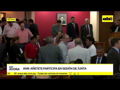 ANR: sesión en Junta de Gobierno
