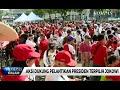Aksi Dukung Pelantikan Presiden Terpilih Jokowi