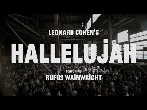 1500 People Sing Hallelujah by Leonard Cohen