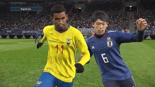 JAPÓN VS ECUADOR - COPA AMÉRICA BRASIL 2019 (SIMULACIÓN)