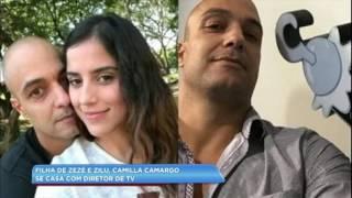 Hora Da Venenosa: Filha De Zezé E Zilu, Camilla Camargo Se Casa Com Diretor De TV