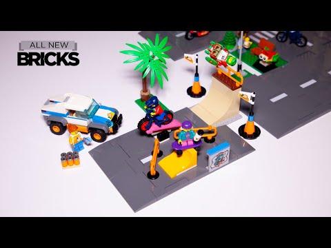Vidéo LEGO City 60290 : Le skatepark